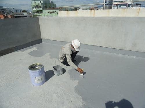 Sử dụng sơn chống thấm sàn mái, sàn thượng tại đồ chống nước với mức giá rẻ