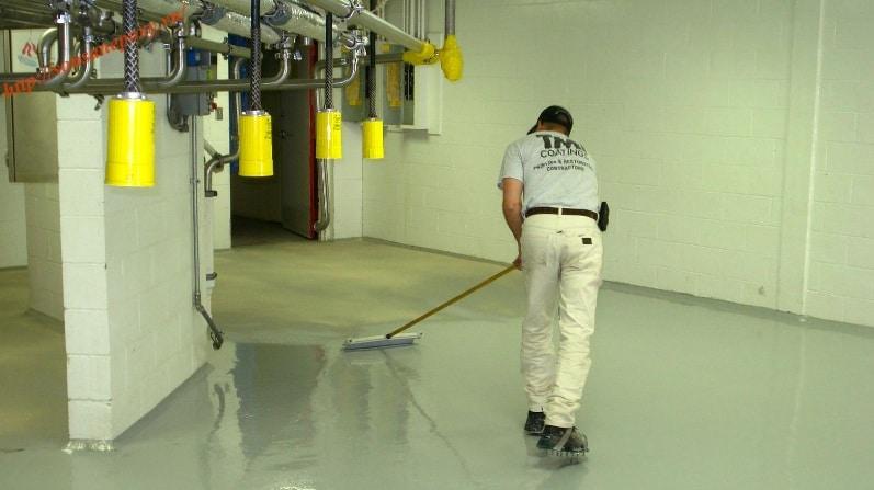 Thi công chống thấm cho sàn bê tông