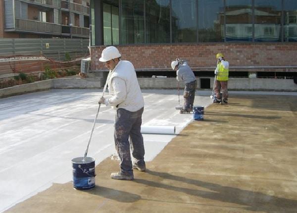 Chống thấm trần nhà bê tông bằng kỹ thuật chống thấm thuận