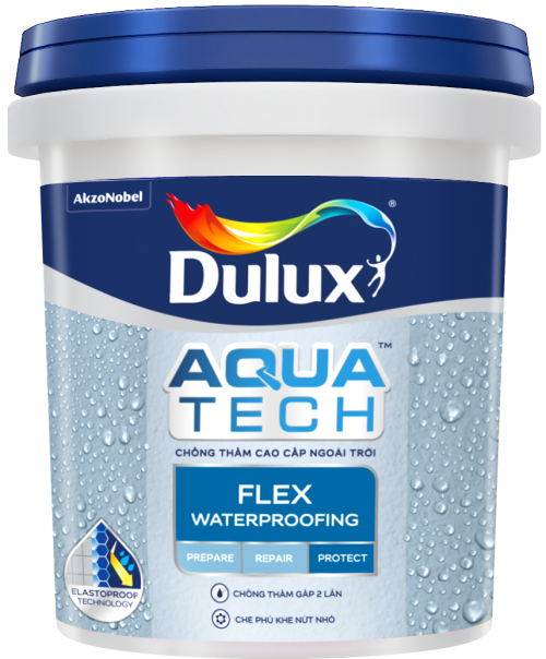 Sơn chống thấm Dulux Aquatech Flex W759