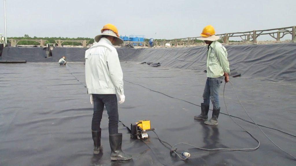 chống thấm bằng màng HDPE