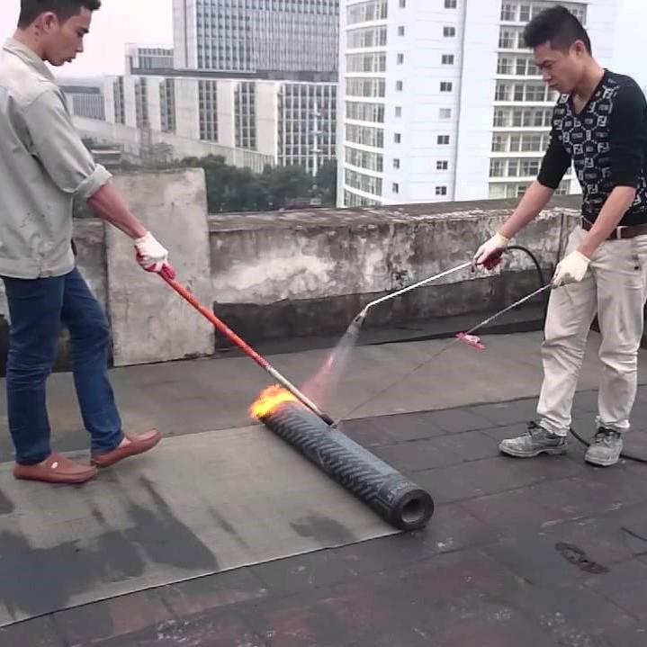 Thi công chống thấm khò nóng