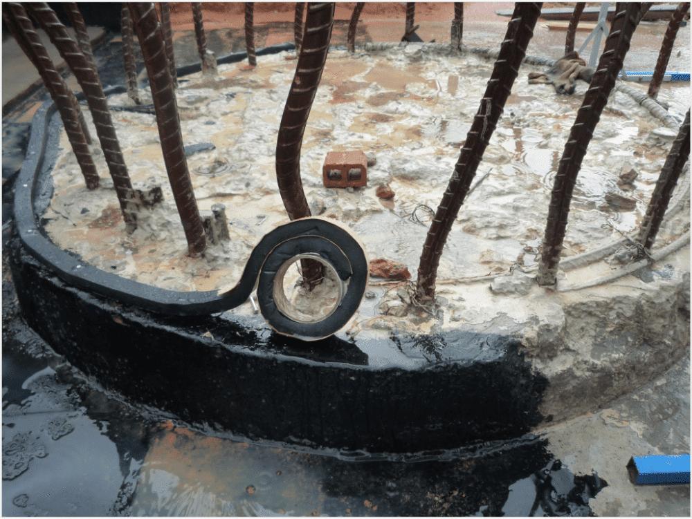 chống thấm Thái Nguyên với băng trương nở